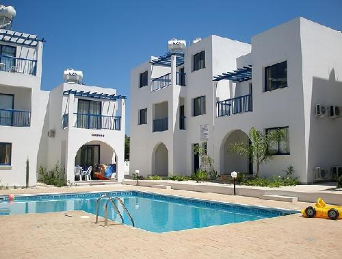 Cyprus one bed apartment paphos